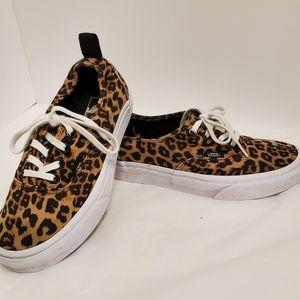 Authentic Unisex Vans Doren, Leopard Sneakers